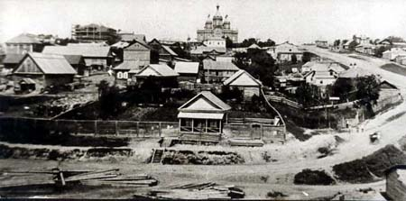 Фотография старого Хабаровска